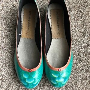 Mermaid Ballet Flats BNWT